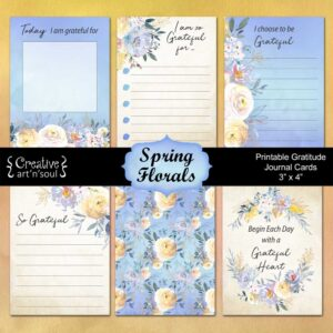 Printable Gratitude Cards