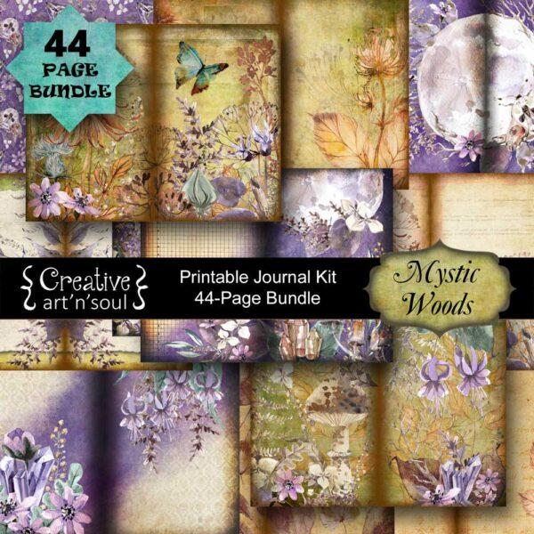 Mystic Woods Printable Junk Journal Bundle
