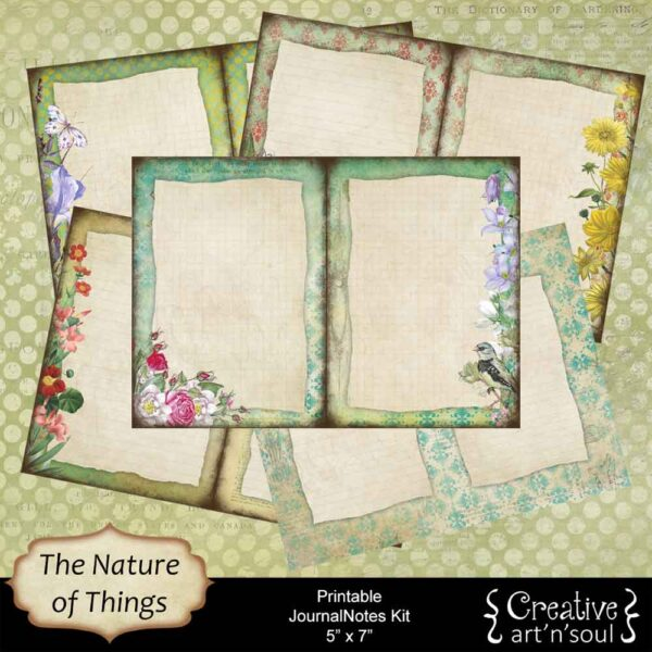 The Nature of Things Printable JournalNotes