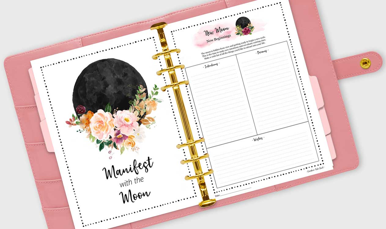 How to Set New Moon Intentions