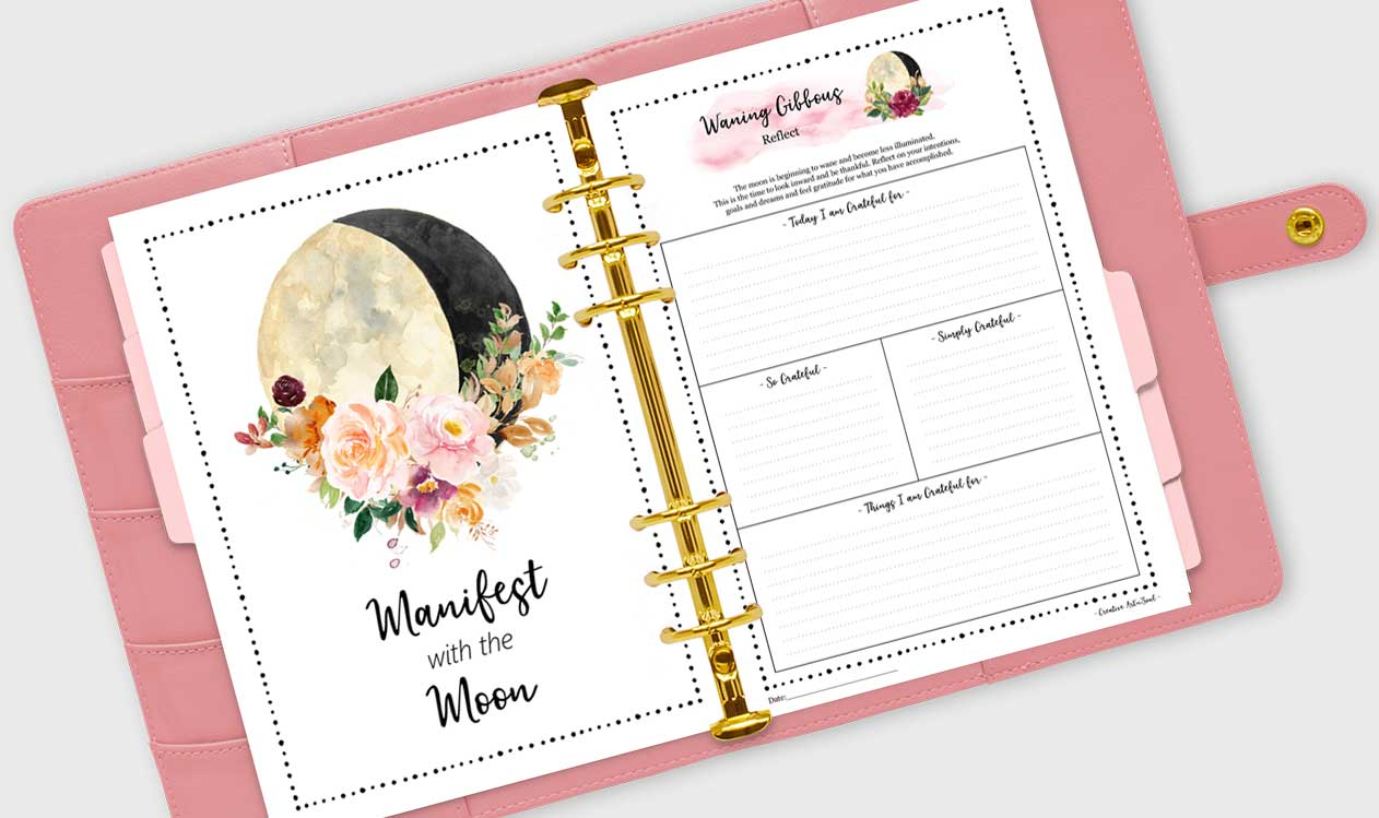 Guided Journaling for Each Phase of the Moon