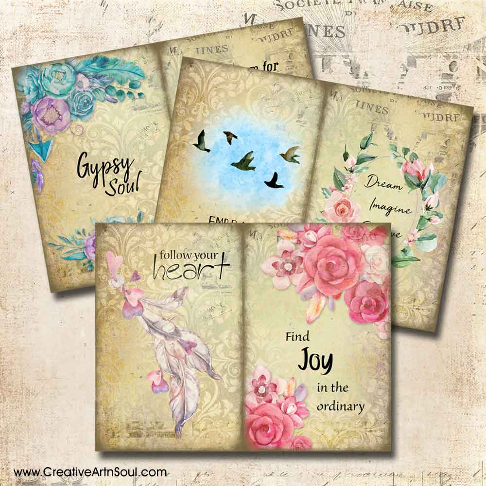 Positive Vibes Printable Journal Pages