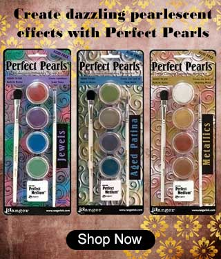 Create dazzling pearlescent effects with Perfect Pearls